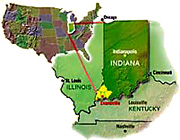 The VIP is Strategically located in Indiana's great southwest, the Evansville Region